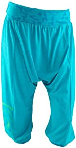 Zumba Fitness Women's Sunset Capri, Waterfall, X-Small