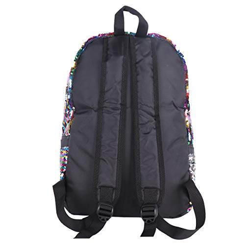 Amazon.com: iiniim Sequins Backpack, Fashion Shiny Bling Glitter Backpack Casual Outdoor Sport Hiking Daypack for Girls Women Colorful One Size: Clothing