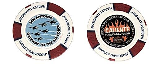 Caliente Harley-Davidson Custom Poker Chip