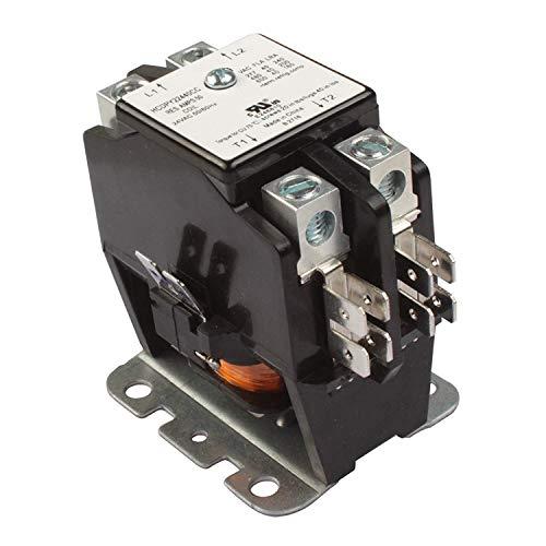 40 AMP 942024 DEFINITE PURPOSE CONTACTOR 2 Pole 24V HVAC Heating Refrigeration 50A NEMA