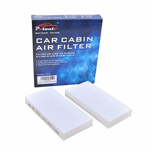 Wrangler Air Jeep (POTAUTO MAP 2010W Cabin Air Filter Replacement compatible with JEEP, WRANGLER)