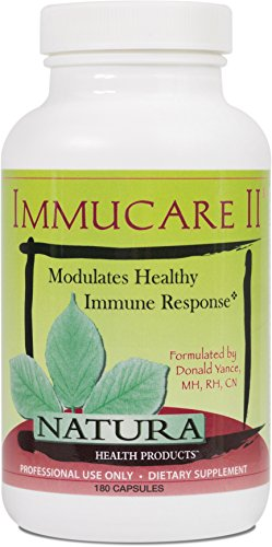 Natura Health Products - Immucare II - Promotes Healthy Immune Response and Detoxification Activity - 180 Capsules by Natura Health Products