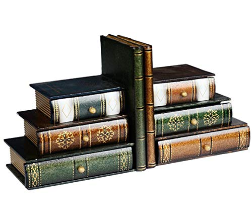 Fasmov Books Wood Bookends