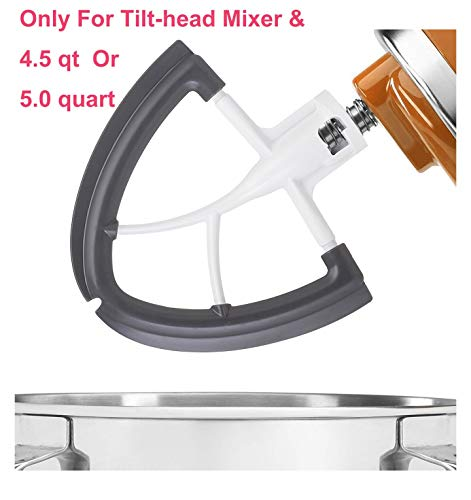 Gvode-Flex-Edge-Beater-for-Kitchen-Aid-45-5-Quart-Tilt-Head-Stand-Mixer-Flat-Beater-Blade-with-Flex-Edge-Bowl-Scraper