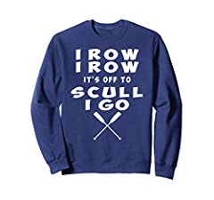 This Rower Saying sweatshirt is what most rowers can relate to because of how enticing it is to improve time, technique, stamina and strength regardless of how much hard work it takes which makes this rower saying shirt smooth sailing for men and wom...