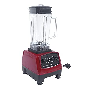Z ZTDM Juicer 2-L Jug Juice Extractor High Speed Blender Industrial Strength Blender Smoothie Maker Multifunctional Household Electric Extractor Food Machine Ice Crasher Meat Mincer 2000W US Plug(Red)