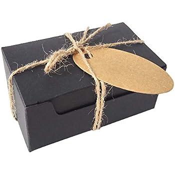 Amazon.com: 100ea – 3 – 1/2 x 2 – 3/4 x 1 – 1/8 Kraft caja ...