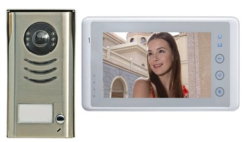 Amazon Video Door Phone Intercom System 7 Lcd Color Touch