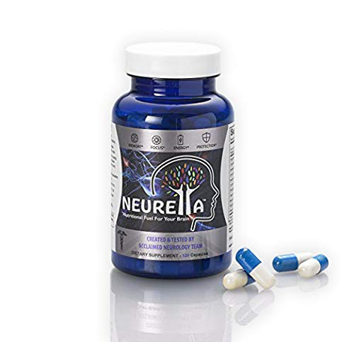 Neurella Extra Strength Brain Supplement – Powerful Brain Food & Memory Booster. Improve Focus, Clarity & Energy. Mental Performance Nootropic – Reduce Memory Loss & Brain Fog. Nutritional Brain Fuel