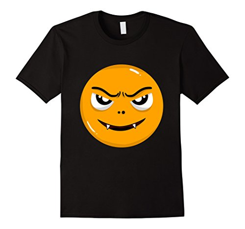 Naughty Halloween Costumes For Men (Mens Halloween Naughty Emoji Funny Costume T-Shirt Large Black)