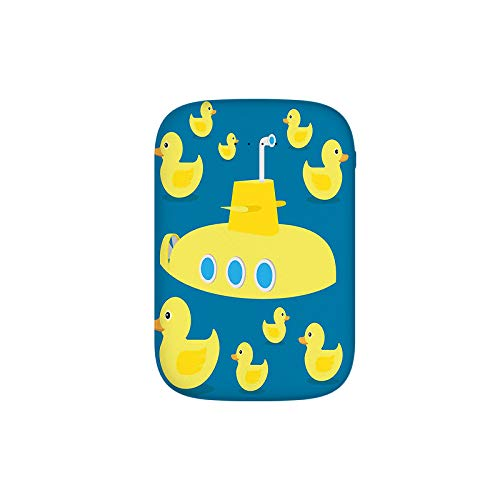 Duckies Swimming in The Sea with a Yellow Submarine Kids Party Nautical Print Portable Charger 8000mAh Power Bank External Battery Backup Pack Fast Charger for iPhone,Samsung Galaxy and More ()