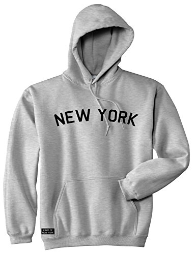 Kings Of NY New York Arch Chest NYC Manhattan Soho Uptown Pullover Hoody Sweatshirt Large - Ny Soho Shops