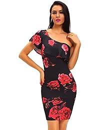 Vestidos De Fiesta Sexys Cortos Casuales Ropa De Moda Para Mujer De Noche Elegantes Negros Rojos VE0039
