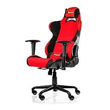 Arozzi Torretta Series Gaming Racing Style Swivel Chair, Red