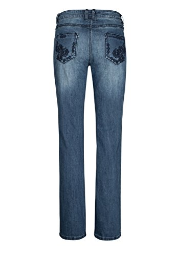 Blue Jeans Skinny Femme Victoria Million X Fleur Bootcut Dark Fx1wZ7q