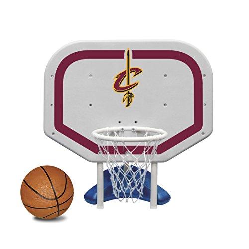 (Poolmaster 72936 Cleveland Cavaliers NBA Pro Rebounder-Style Poolside Basketball Game)