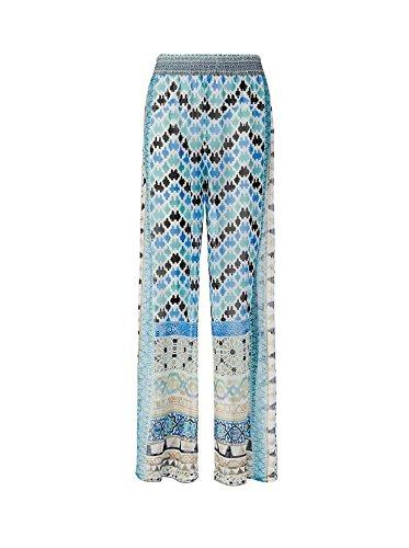 Camilla Majolica Blue Sheer Print Silk Pants 2 by Camilla