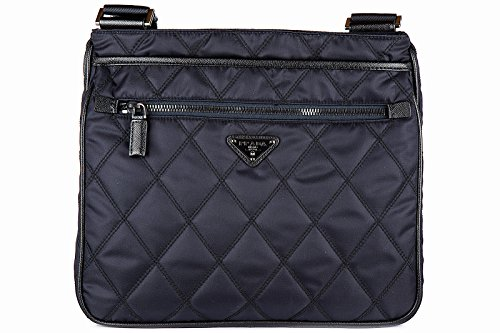 Prada men's cross-body messenger shoulder bag (Prada Canvas Handbag)