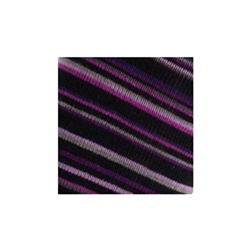Modèle Achile Rayures En Coton À Hautes Violet Adèle Chaussettes rPIBIWa