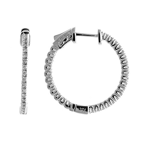 14k-60ct-white-gold-diamond-secure-lock-25-mm-hoop-earrings