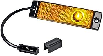 HELLA 2PS 964 295-061 Seitenmarkierungsleuchte 500 mm Kabel Anbau links//rechts LED 12 V
