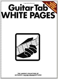 Guitar Tab White Pages: The Largest Collection of Authentic Guitar Transcriptions: Amazon.es: Various: Libros en idiomas extranjeros