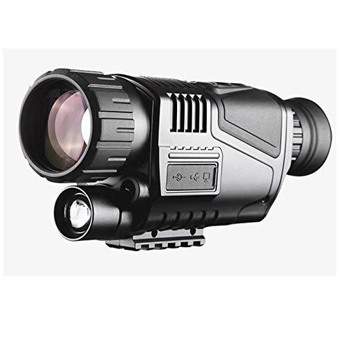 【国内配送】 FIRECLUB FIRECLUB (黒) 5X40 5X40 HD赤外線単眼ナイトビジョンハンドヘルド赤外線デジタル照準望遠鏡リモート内蔵カメラ (黒) 黒 B07PNSJ119, JVG:ddb38494 --- vanhavertotgracht.nl