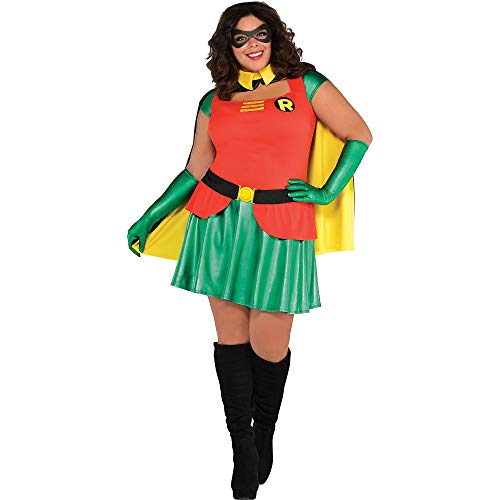SUIT YOURSELF Robin Halloween Costume for Women, Batman, Plus Size, Includes Accessories