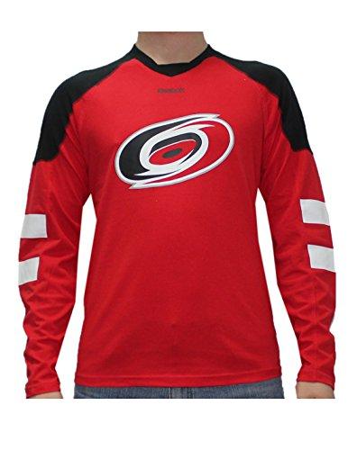 fan products of NHL CAROLINA HURRICANES Mens Game Day Hockey Training Shirt XL Red
