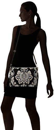 Lola Casademunt Cameron, Bolso Baguette para Mujer, Negro (Unico), 1x21x30 cm (W x H x L)