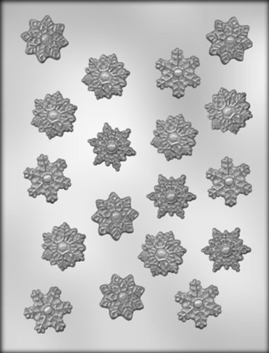 CK Products 1-1/4-Inch Snowflake Chocolate Mold]()