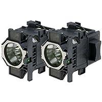 Powerlite Pro Z8250NL Epson Twin-Pack Projector Lamp Replacement. Twin-Pack Projector Lamps with High Quality Genuine Original Ushio Bulb Inside.