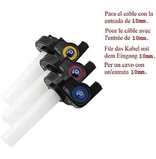 Puño de Gas rápido Corto 1\4 para Acelerador de Moto Aluminio/plastico pitbike