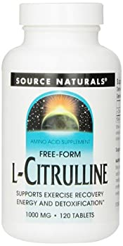 Source Naturals L-Citrulline 1000mg, Enhanced Athletic Performance, 120 Tablets