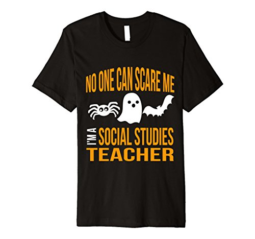 [Mens Funny Social Studies Teacher Halloween Gift Shirt Him Her Large Black] (Halloween Costume Lesson Plans)