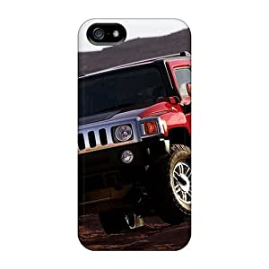 Rugged Skin Cases Covers For Iphone 5/5s- Eco-friendly Packaging(hummer)