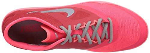 Nike Studio Trainer 2 - Zapatillas de gimnasia para mujer Varios colores (Hyper Punch / Metallic Silver Action Red)