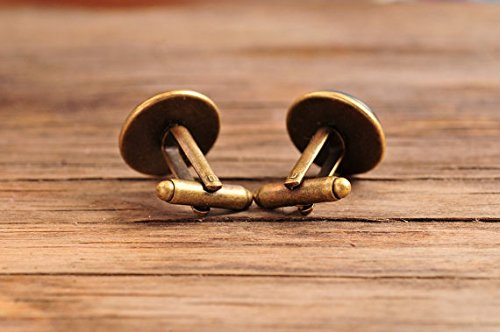 Mandala Jewelry Yoga Cufflinks. Sacred Geometry Jewelry Spiritual Cufflinks hong ben xie chang Black Mandala Cufflinks