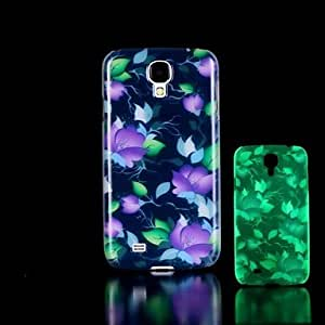 LCJ Samsung S4 Mini I9190 compatible Graphic/Special Design/Glow in the Dark Plastic Back Cover