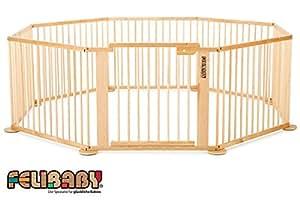 ONE4all 1+7 - Barrera de seguridad para puertas y escaleras, sistema modular y flexible, parque