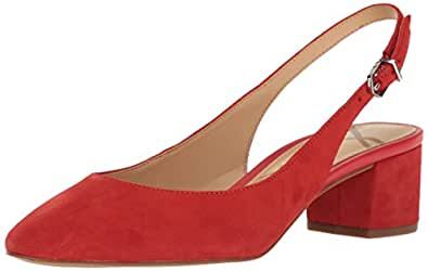 Sam Edelman Women's Lorene, Havana Red Suede, 6 M US