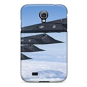 New Design Shatterproof SFZceaz6730NQGRj Case For Galaxy S4 (lockheed F 117 Nighthawk)