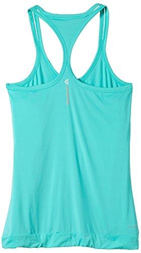 Reebok Tank Top One Series Jacquard - Camiseta de fitness para mujer verde