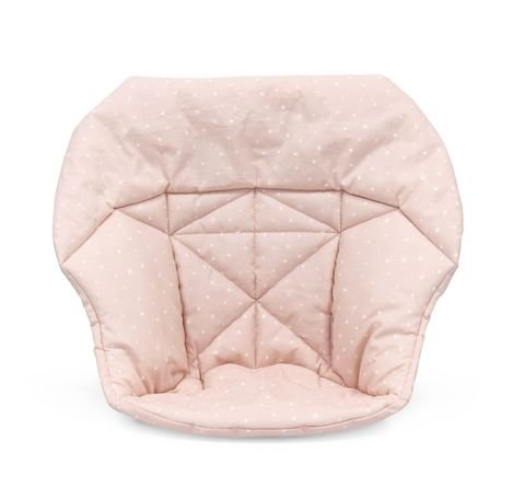 Stokke Tripp Trapp Mini Baby Cushion, Organic Cotton Pink Bee