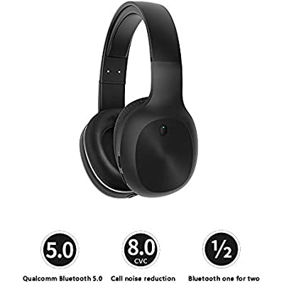 FCHDZ Bluetooth headphones over ear wireless bluetooth headphones over ear with mic hifi sound quality noise reduction one machine dual use suitable for most bluetooth-enabled devices