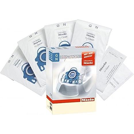 Miele 9153500 Bolsas tipo GN de recambio con filtro para aspiradoras S2000 y S5000