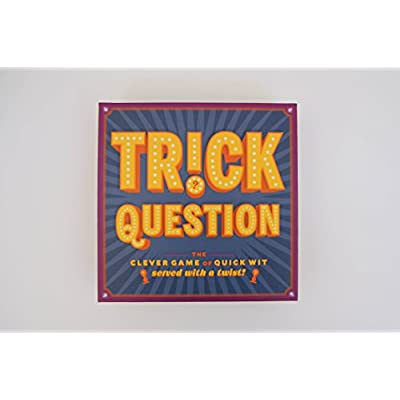 Chronicle Books Trick Question (Trick Question Game, Hygge Games, Adult Card Games for Parties, Adult Board Games for Groups): Forrest-Pruzan Creative: Kitchen & Dining