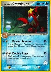 (Pokemon - Team Aqua's Crawdaunt (14) - EX Team Magma vs Team Aqua)