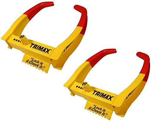 Trimax TCL75 Deluxe Universal Wheel Chock Lock 7