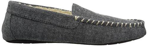 Ralph Lauren Hombres Polo Dezi Ii Mocasin Slip-on Veneciano Negro / Blanco